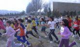 Un total de 26 escolares de Totana participaron en la final regional de campo a través benjamín y alevín de deporte escolar