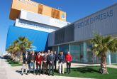 El alcalde de Alhama de Murcia mantiene una reuni�n de trabajo con la Asociaci�n de J�venes Empresarios del Guadalentin
