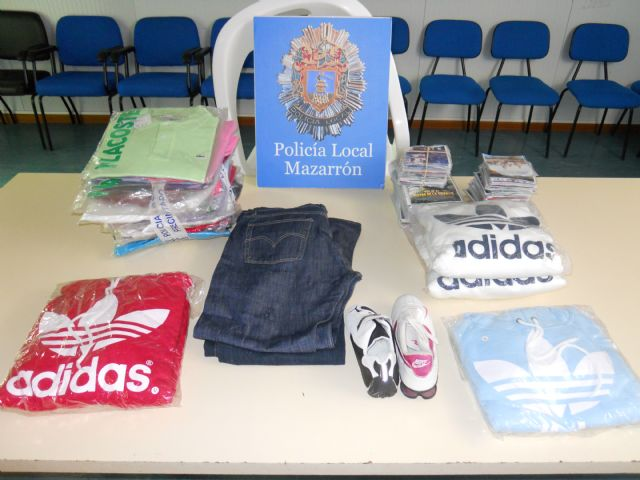Cinco detenidos por un presunto robo en un comercio de Mazarrón, Foto 1