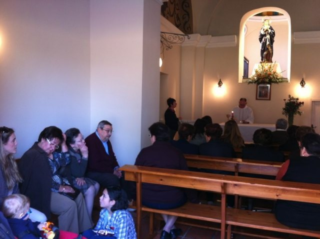 El pasado Viernes de Dolores tuvo lugar una misa en la ermita del Calvario, Foto 1