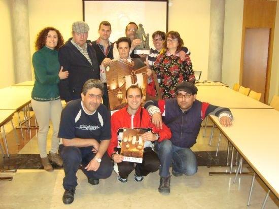 Los usuarios del Servicio de Apoyo Psicosocial visitan la sede del Ilustre Cabildo Superior de Procesiones, Foto 2