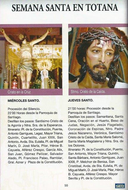 Ya se puede recoger la guía de Semana Santa SER Cofrades en la Oficina de Turismo de Totana, Foto 2