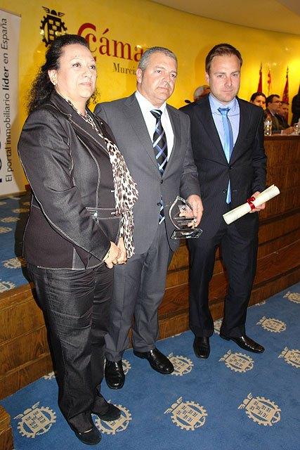 Construcciones Palomares recibe el premio a la mejor promoción de viviendas VPO de la Región de Murcia, Foto 1