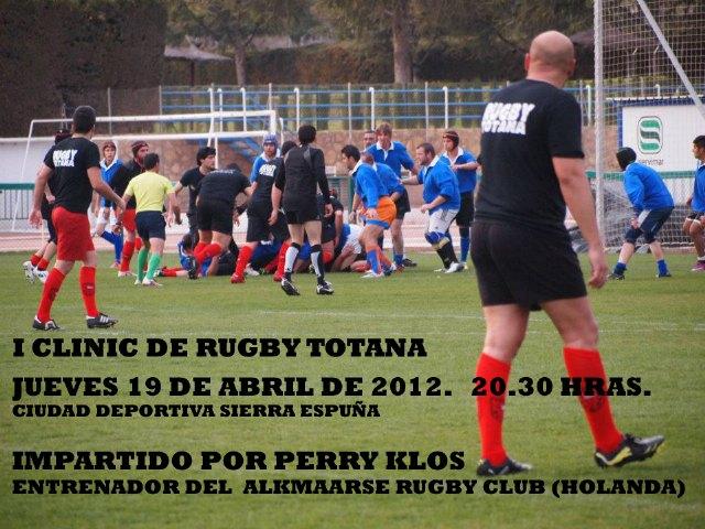 El Club de Rugby de Totana organiza su primer Clinic de Rugby, Foto 1