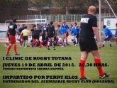 El Club de Rugby de Totana organiza su primer Clinic de Rugby