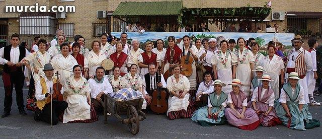 El grupo de Coros y Danzas Ciudad de Totana promocionó una vez más a la ciudad de Totana en el Bando de la Huerta, Foto 1