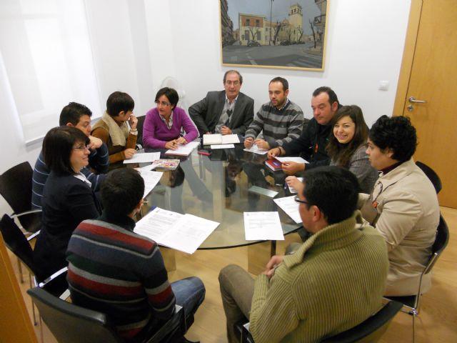 La Junta de Gobierno Local aprueba el convenio de colaboración con AJE-Guadalentín, Foto 1