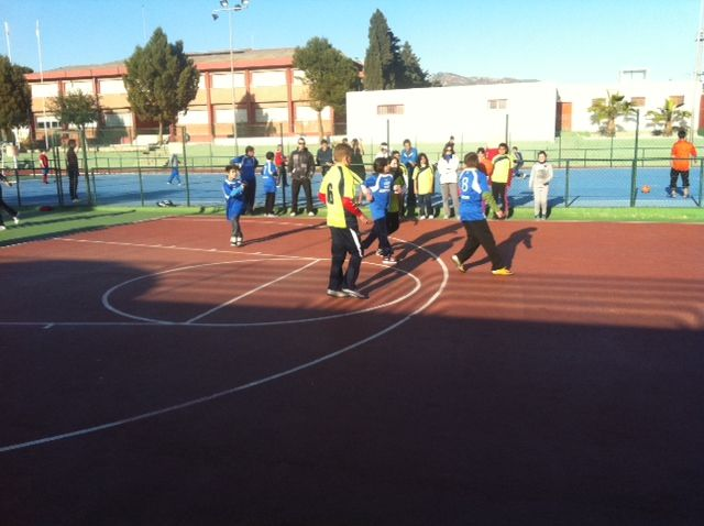 Los centros escolares de Mazarrón se miden mañana a los de Totana en deporte escolar, Foto 1