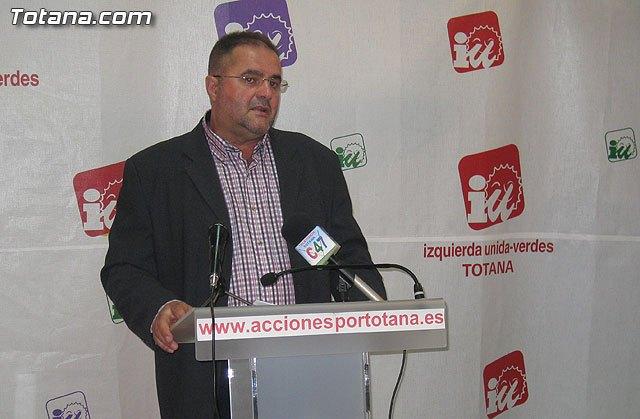 Rueda de prensa IU-verdes 12/04/2012, Foto 1
