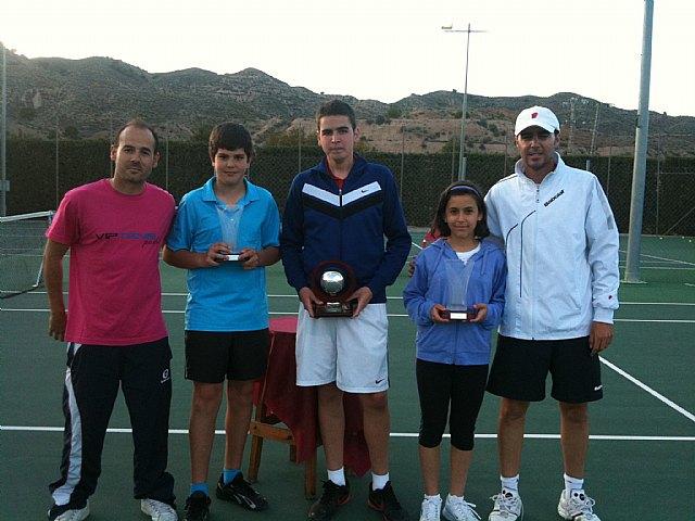 Finaliza el torneo de Semana Santa de Tenis en el Club de Tenis Totana, Foto 1