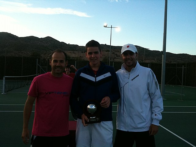 Finaliza el torneo de Semana Santa de Tenis en el Club de Tenis Totana, Foto 2