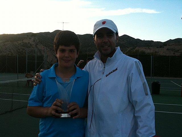 Finaliza el torneo de Semana Santa de Tenis en el Club de Tenis Totana, Foto 3