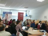 Jóvenes empresarios totaneros aprenden a crear su blog de empresa gracias a la Asociación de Jóvenes Empresarios del Guadalentín