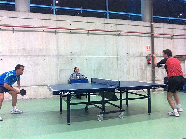 Tenis de Mesa. Club Totana T.M. 2ª nacional: C.D. Huetor Vega 4 -- 3 Peña Barcelonista de Yotana, Foto 2