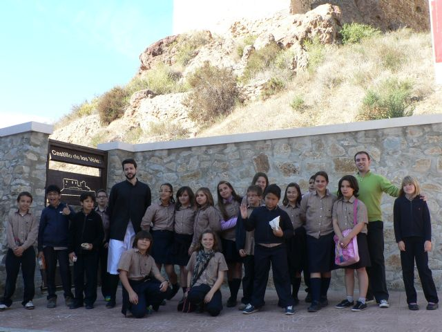 Los escolares de Mazarrón conocen los edificios históricos a través de visitas teatralizadas, Foto 3
