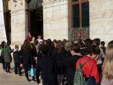 Los escolares de Mazarrón conocen los edificios históricos a través de visitas teatralizadas