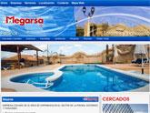 Navega por la nueva p�gina web de Piscinas Megarsa