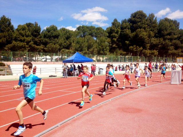 Álvaro Carreño campeón regional alevín de lanzamiento de jabalina, Foto 3
