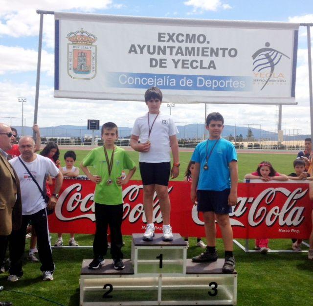 Álvaro Carreño campeón regional alevín de lanzamiento de jabalina, Foto 4