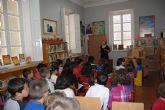 Éxito en las dos sesiones de Cuentacuentos organizadas en las bibliotecas públicas de Totana con motivo de las actividades del Día del Libro