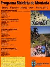 La concejalía de Deportes organiza una jornada de bicicleta de montaña con una ruta por los parajes de Malvariche