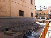 Acometen actuaciones de remodelación del pavimento y arreglo del arbolado en la Glorieta del Convento de las Tres Avemarías