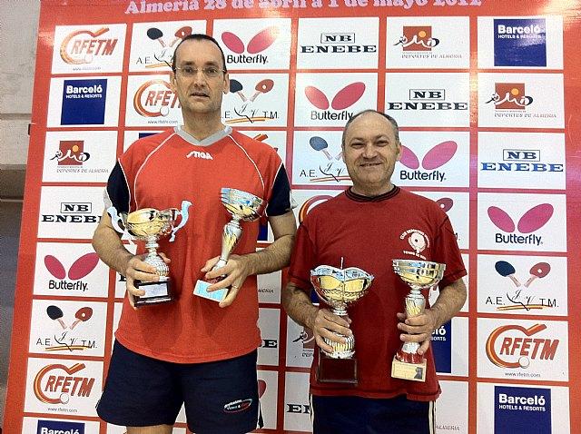 Campeonato de España de veteranos. Tenis de Mesa, Foto 1
