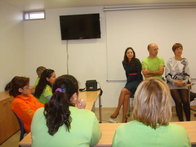 Alumnos del Taller de Empleo Communitas de Abarán visitan Totana, Foto 1