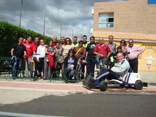 Los usuarios del Servicio de Apoyo Psicosocial participan en las jornadas de educación vial, Foto 3