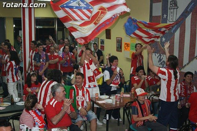 La Peña Atlético de Madrid de Totana organiza una jornada de puertas abiertas con motivo de la final de la UEFA Europa League, Foto 1