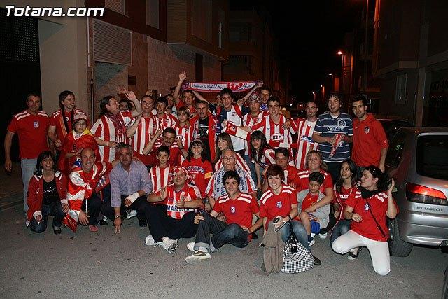 La Peña Atlético de Madrid de Totana organiza una jornada de puertas abiertas con motivo de la final de la UEFA Europa League, Foto 2