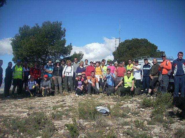 El pasado Domingo 6 de Mayo se celebró desde el Santuario de la Salud de la Hoya una nueva ruta senderista, Foto 1