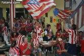 La Peña Atlético de Madrid de Totana organiza una jornada de puertas abiertas con motivo de la final de la UEFA Europa League