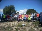 El pasado Domingo 6 de Mayo se celebró desde el Santuario de la Salud de la Hoya una nueva ruta senderista