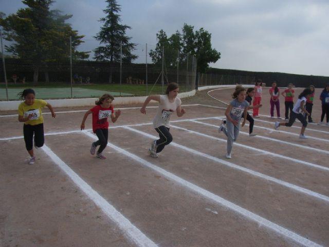 Un total de 64 escolares participaron en la jornada de atletismo de Deporte Escolar, Foto 3