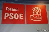 PSOE: El gobierno de Rajoy deniega a Totana la linea ICO para poder saldar la deuda de 30 millones de euros con los proveedores