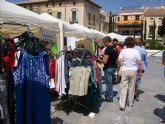 Una veintena de comercios se dan cita en la jornada Tu Comercio en la Plaza