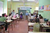Los alumnos del IES Valle de Leiva aprenden de la importancia de la separaci�n selectiva de residuos dom�sticos