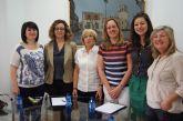 Fomento y Empleo establece nuevas líneas de colaboración entre las Asociaciones de Mujeres Empresarias de la localidad y de la región de Murcia