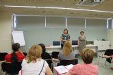 Mujer clausura un curso de Ofim�tica e inaugura otro de Atenci�n a Personas Mayores Dependientes