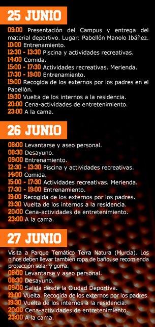 Totana acogerá el I Campus Fran Murcia del 25 al 30 de junio, Foto 3