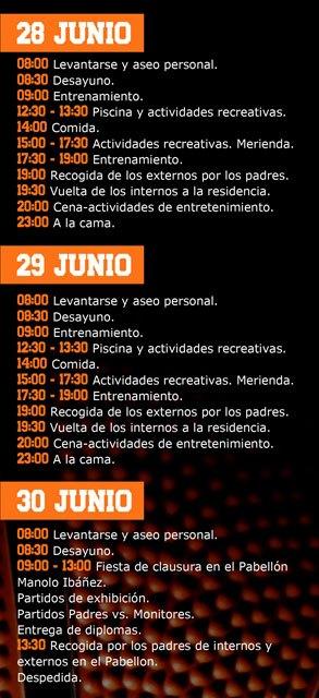 Totana acogerá el I Campus Fran Murcia del 25 al 30 de junio, Foto 4