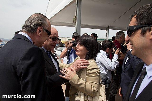 La alcaldesa de Totana apoya la puesta en marcha del proyecto Paramount, Foto 1