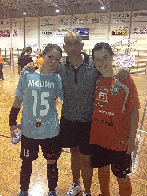Gran exito de dos ex-jugadoras del C.F.S. Capuchino que dan el salto a la Primera División Nacional, Foto 1