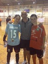 Gran exito de dos ex-jugadoras del C.F.S. Capuchino que dan el salto a la Primera División Nacional