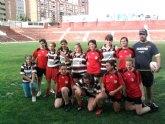La chicas del Club de Rugby de Totana debutan en el III Campeonato de Escuelas de Rugby