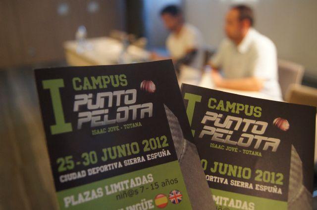 Totana albergará el I Campus Punto Pelota, Foto 1