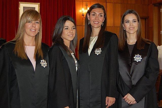 Cuatro nuevas secretarias judiciales en Lorca, San Javier, Totana y Jumilla, Foto 1
