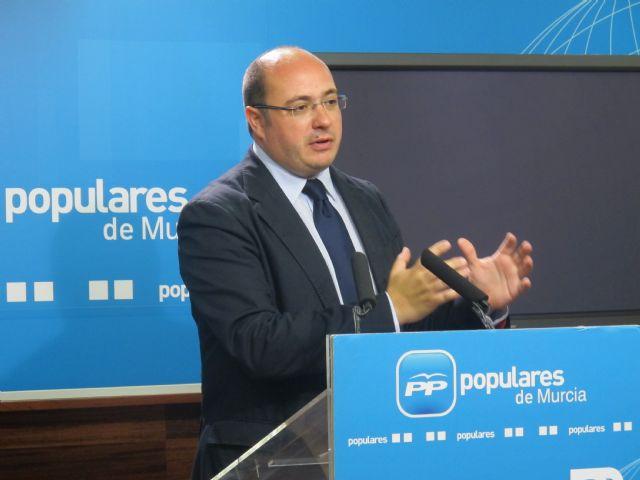 """Pedro Antonio Sánchez: """"Los proveedores de los ayuntamientos de la Región han ingresado 359 millones de euros en facturas pendientes"""", Foto 1"""
