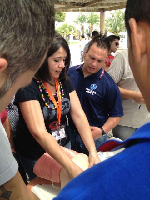 Voluntarios de Protección Civil de Totana participan en unas jornadas de formación sobre intervención en accidentes de tráfico, Foto 2